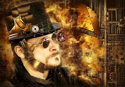 Steampunk Art Kit Photoshop Action