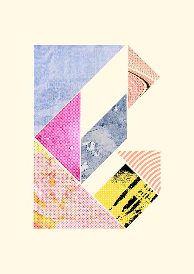 tangram alphabet by laura redburn - B
