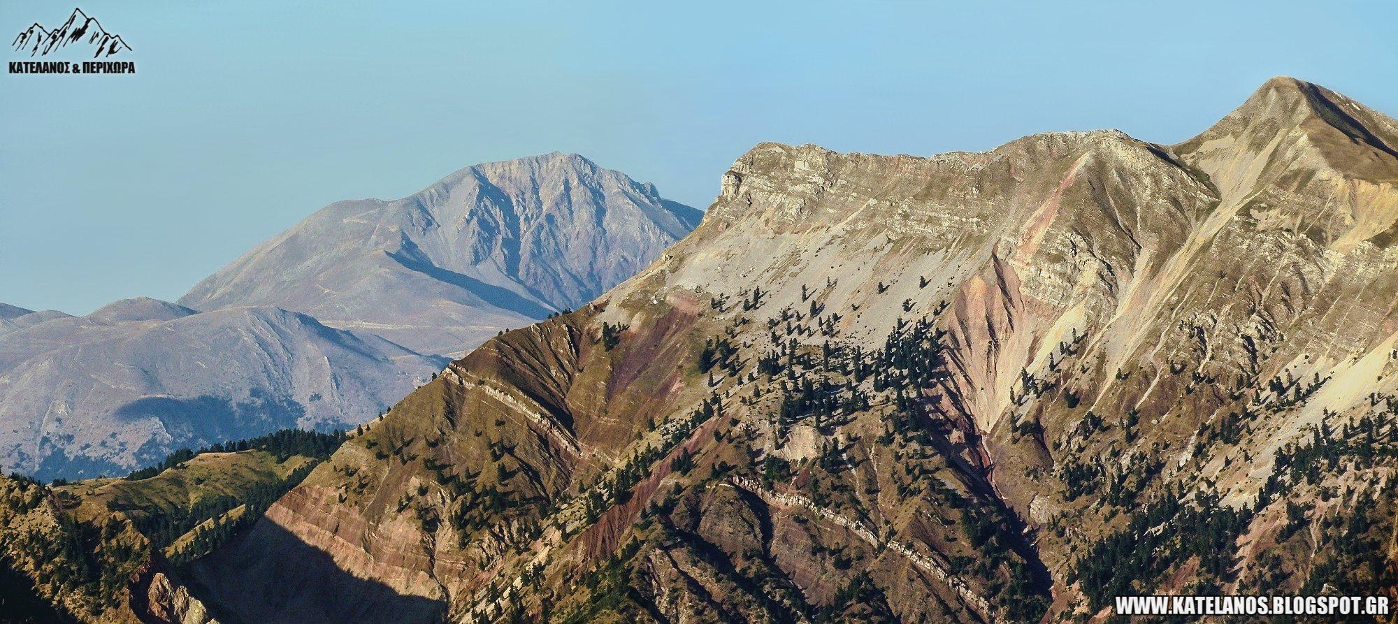 χελιδονα βουνο ευρυτανιας βελουχι ψηλη κορυφη