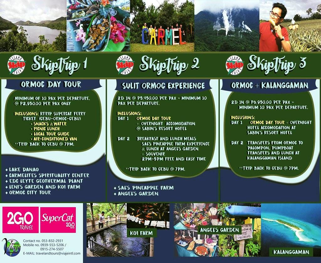 Cebu-Ormoc Tour Travel Skip trip Supercat