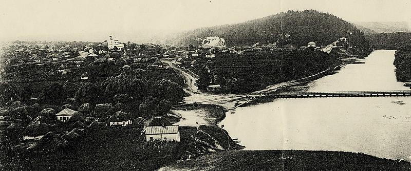 Вид с.Богородичное в начале XX века