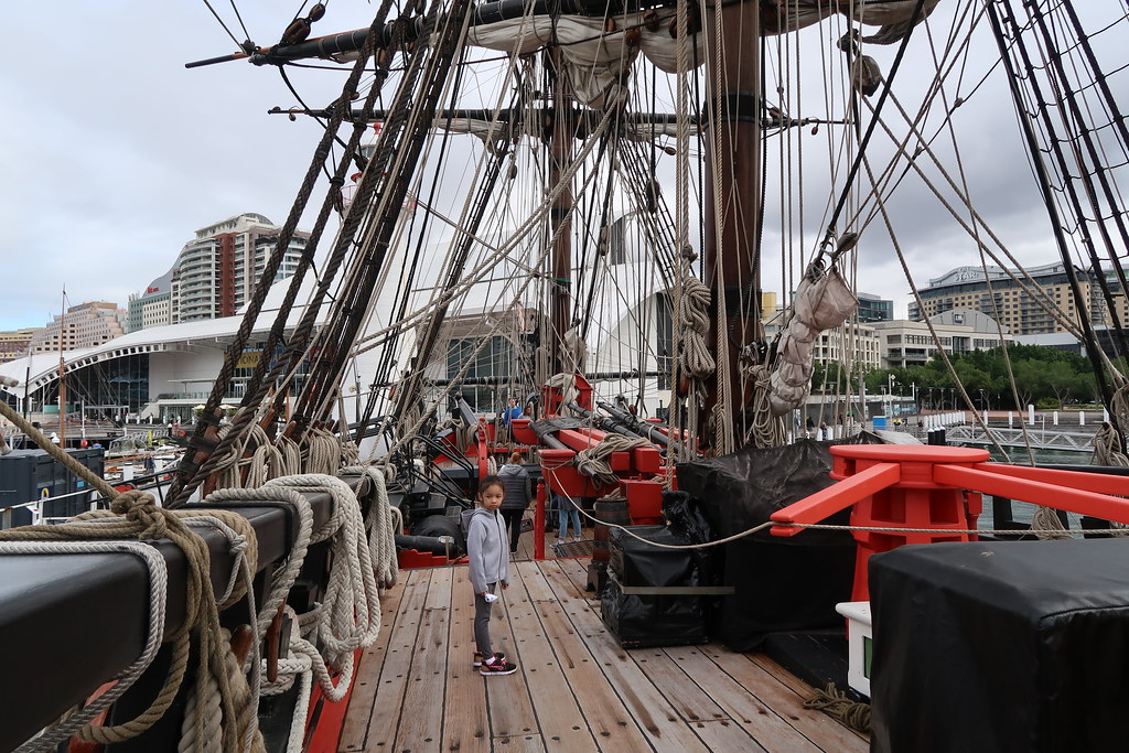 Australian-built replica of James Cook's HMB Endeavour