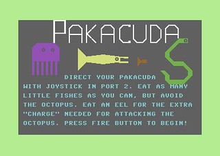 Pakacuda (Commodore 64) | by Deep Fried Brains