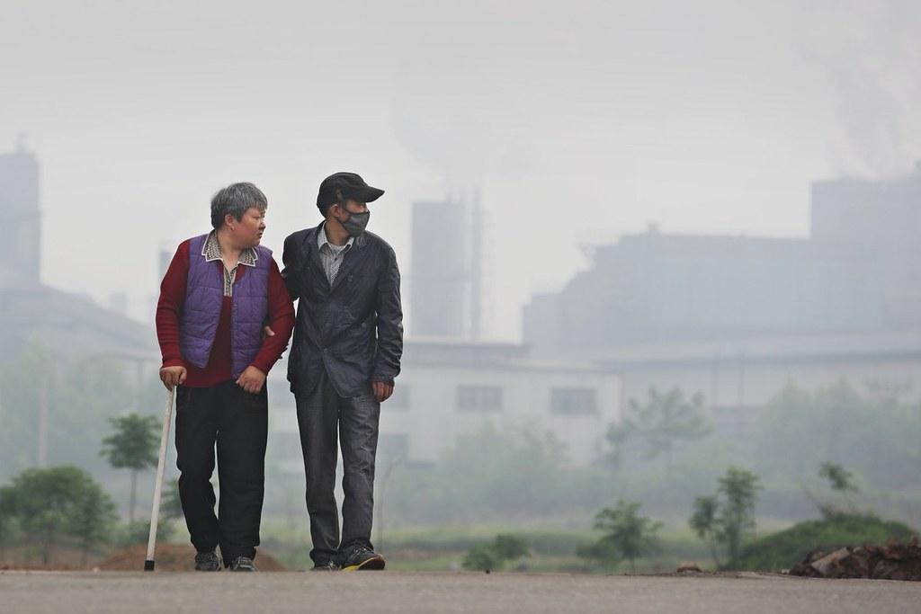 中國的環保NGO隨著其組織的能力日益增長,未來它們可以起訴更多大型污染企業。圖片來源:Lu Guang / Greenpeace