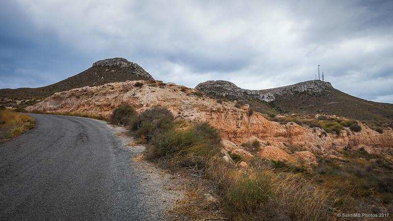 Carretera del faro de la Mesa Roldán