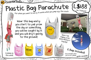 -RC- Plastic Bag Parachute | by -RC- Cluster