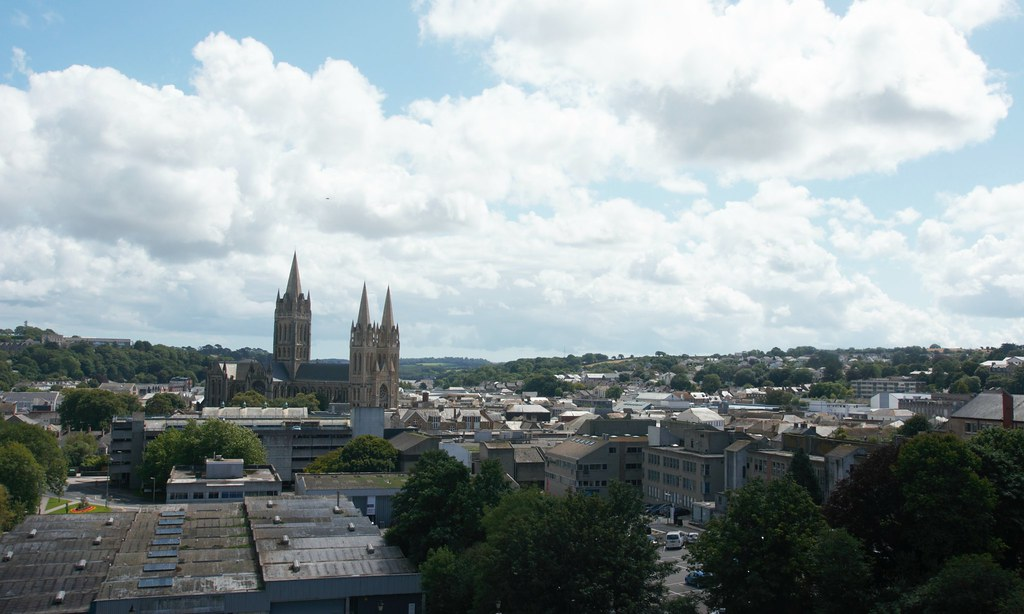 Truro Cornwall 1 Truro Is A Small Medieval Cathedral