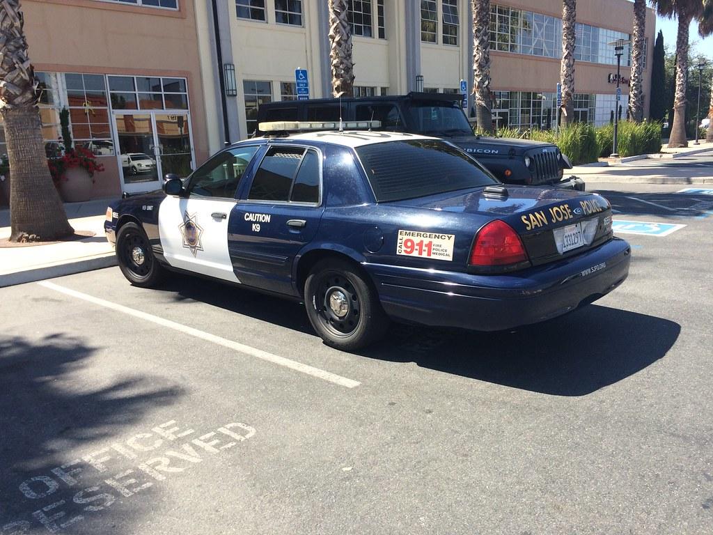 San Jose Police Ford Crown Victoria K9 Unit C 2017 Garbage Flickr