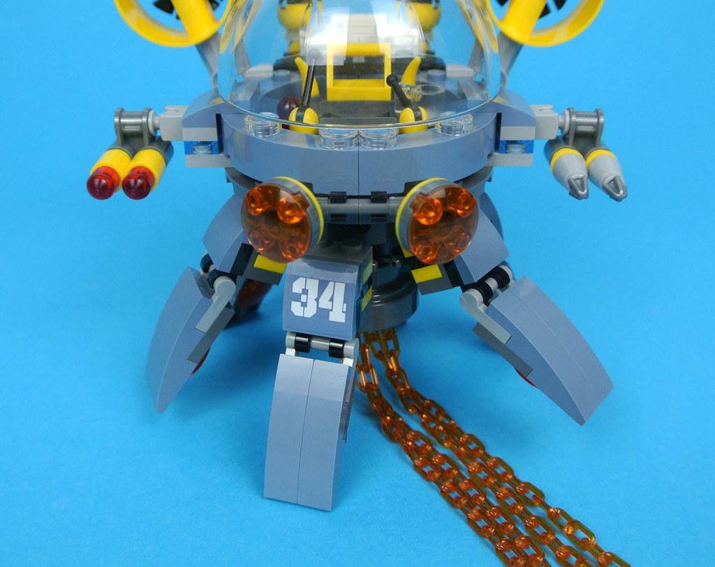 review 70610 flying jelly sub brickset lego set guide and database