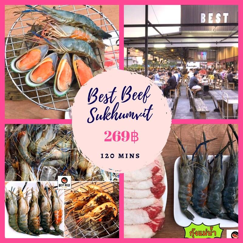 曼谷高性价比必吃海鲜烧烤 BBQ Buffet 泰国旅游 第3张