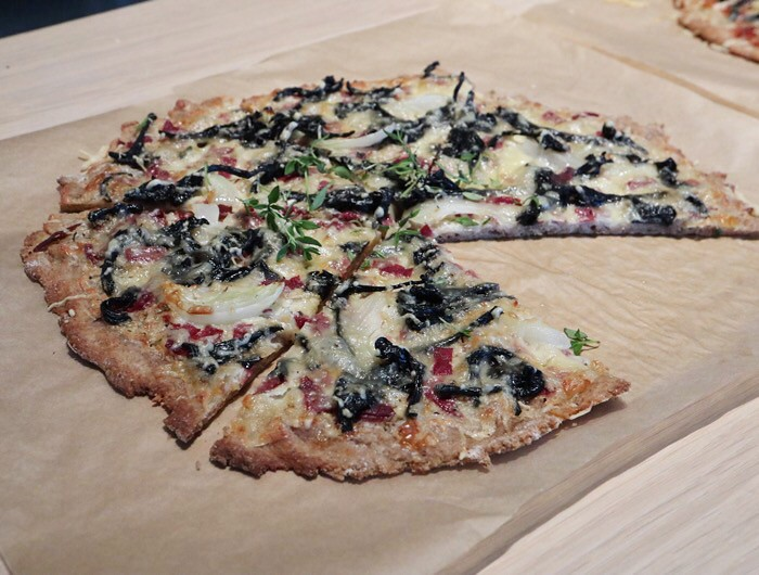 Suomalainen pitsa, ruispohja