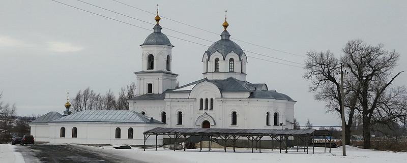Свято-Николо-Феодосиевский скит. Январь 2015 г.