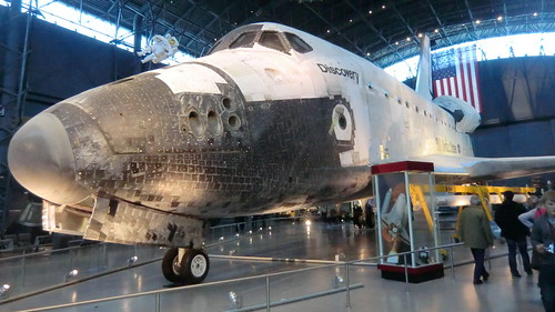 NASA Space Shuttle DISCOVERY - retired workhorse of US-Spa ...