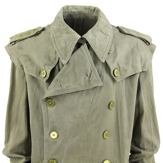Vintage Military Trench Detail