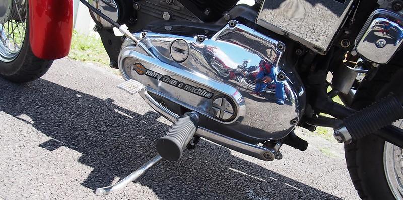 Harley Davidson 1970 à pédales inversées - Cerny (91) Août 2017  36524701542_d56ba1e8c6_c