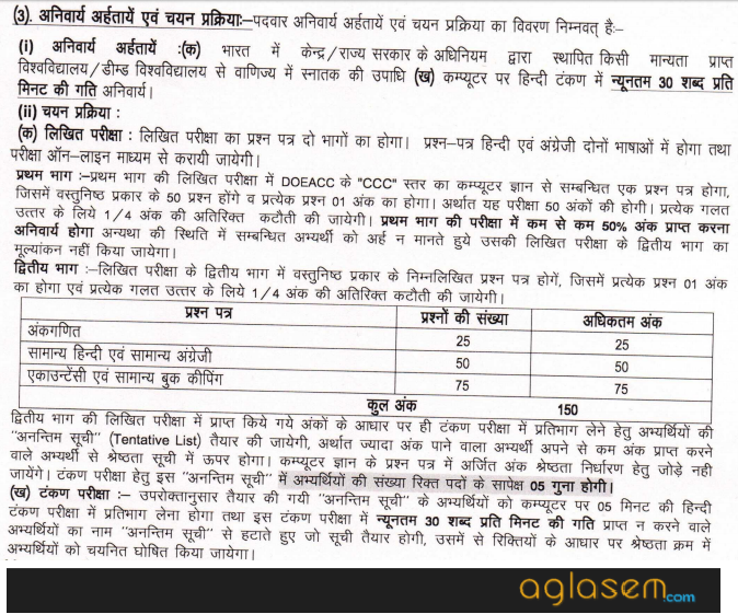 UPPCL Recruitment 2017 for Office Assistant III (Accounts)