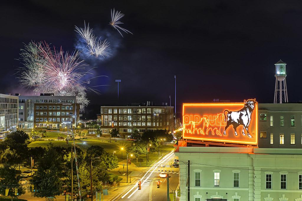 Durham Bulls Fireworks 2017 Fireworks Courtesy Of The Durh Flickr