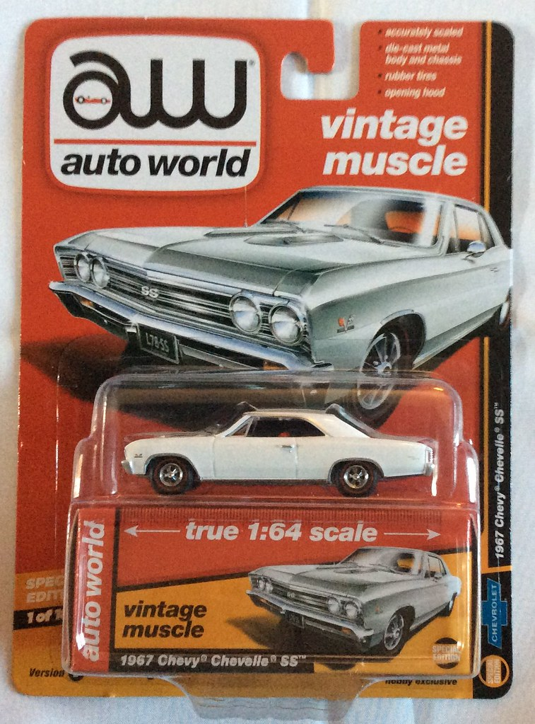 Auto World 64132 1:64 Vintage Muscle 1967 Chevy Chevelle SS ...