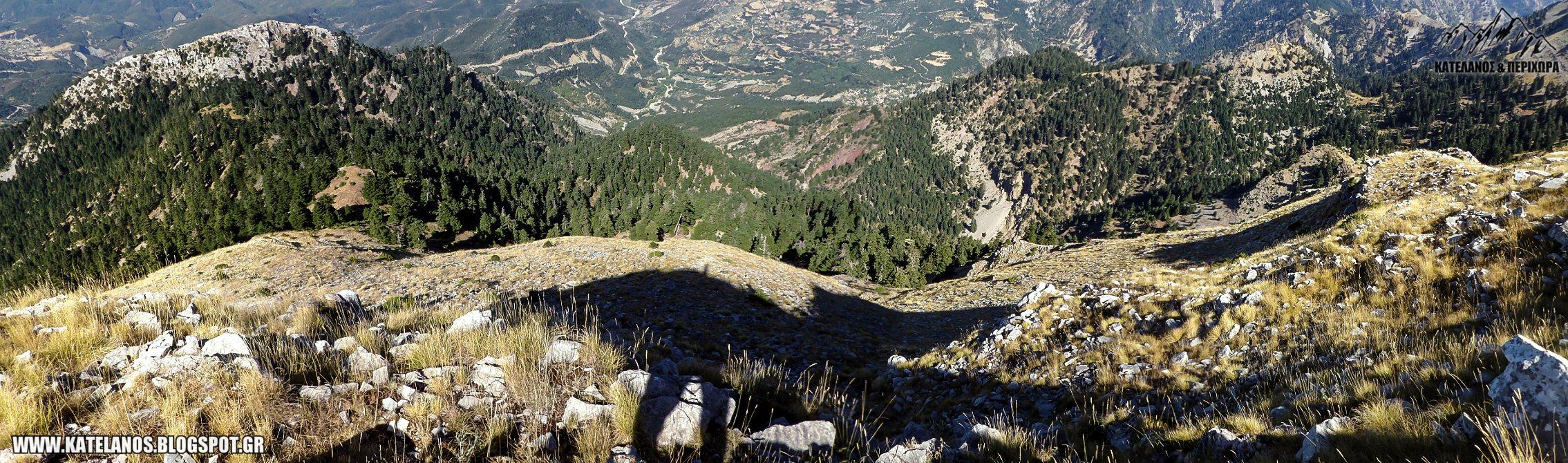 πεντακορφο αιτωλοακαρνανιας βουνα