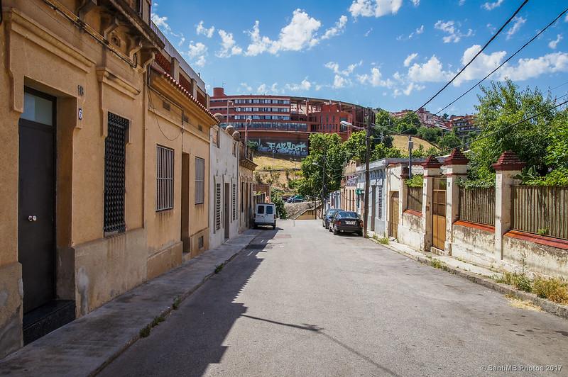 Calle Capcir en el barrio de Horta