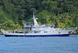 Okeanos Aggressor barco buceo isla del coco