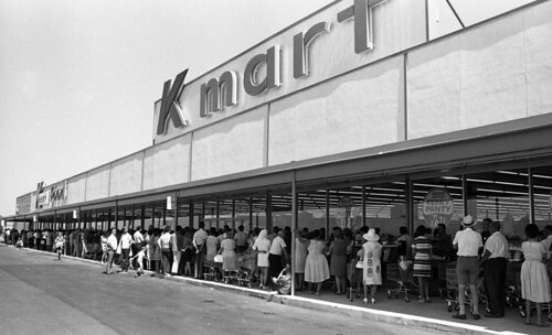 K Mart Grand Opening in 1970 | by Brett Streutker