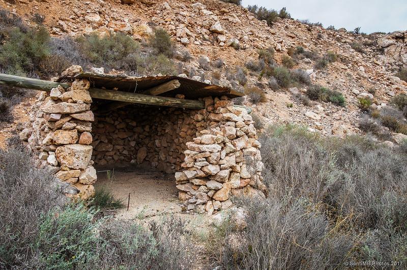 Cabaña de piedra en Mesa Roldán