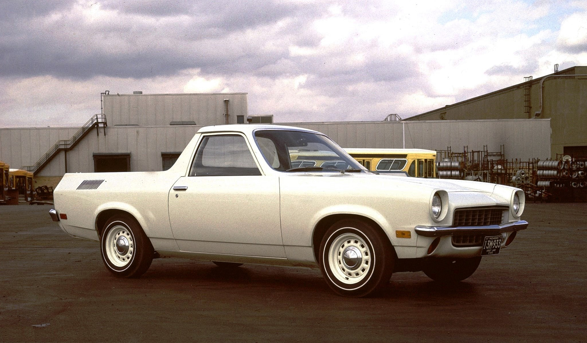 Chevy 85 Truck >> Chevrolet Vega Truck Prototype.