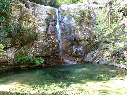 La cascade de la Frassiccia