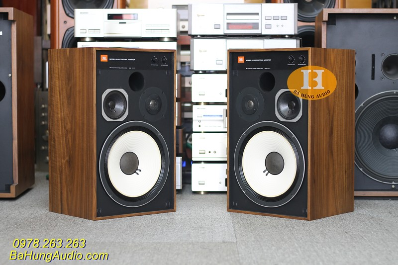 Loa JBL 4312B Control Monitor Vỏ gỗ lạng xuất sắc