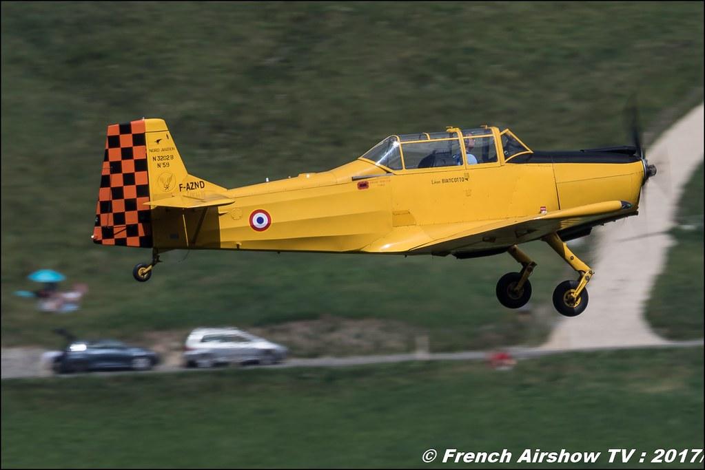 Nord 3202-B Master - F-AZND - DOMMARTIN Bertrand 50ans d'Aviation Megeve 2017 - altiport de Megève , Haute-Savoie, Auvergne-Rhône-Alpes , Meeting Aerien 2017