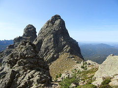 Punta di l'Acellu et di l'Arghjetu depuis la variante alpine du GR20