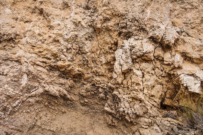 Roca de origen calcárea de la Mesa Roldán