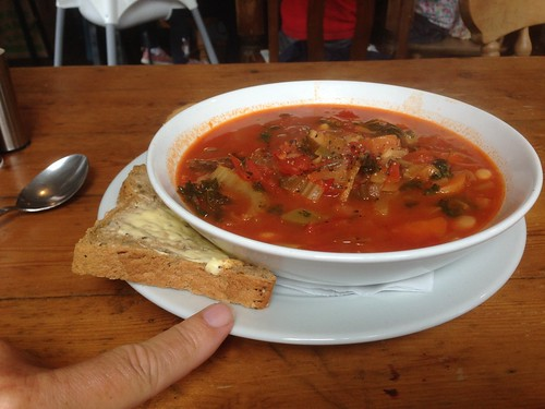 Hearty Italian peasant soup at Zoo | by fred pipes