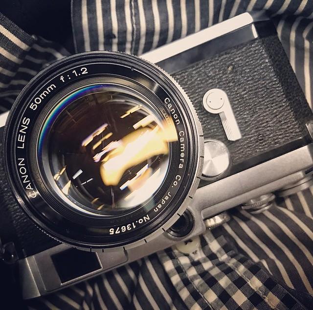 Canon 50mm f1.2 LTM 佳能之光