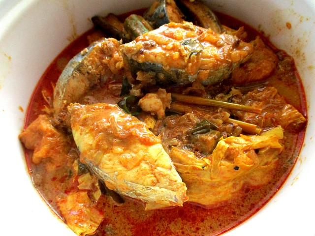My own-cooked fish curry