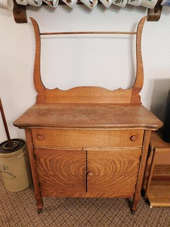 Oak washstand | by thornhill3