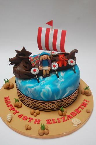 Viking Cake Beautiful Birthday Cakes