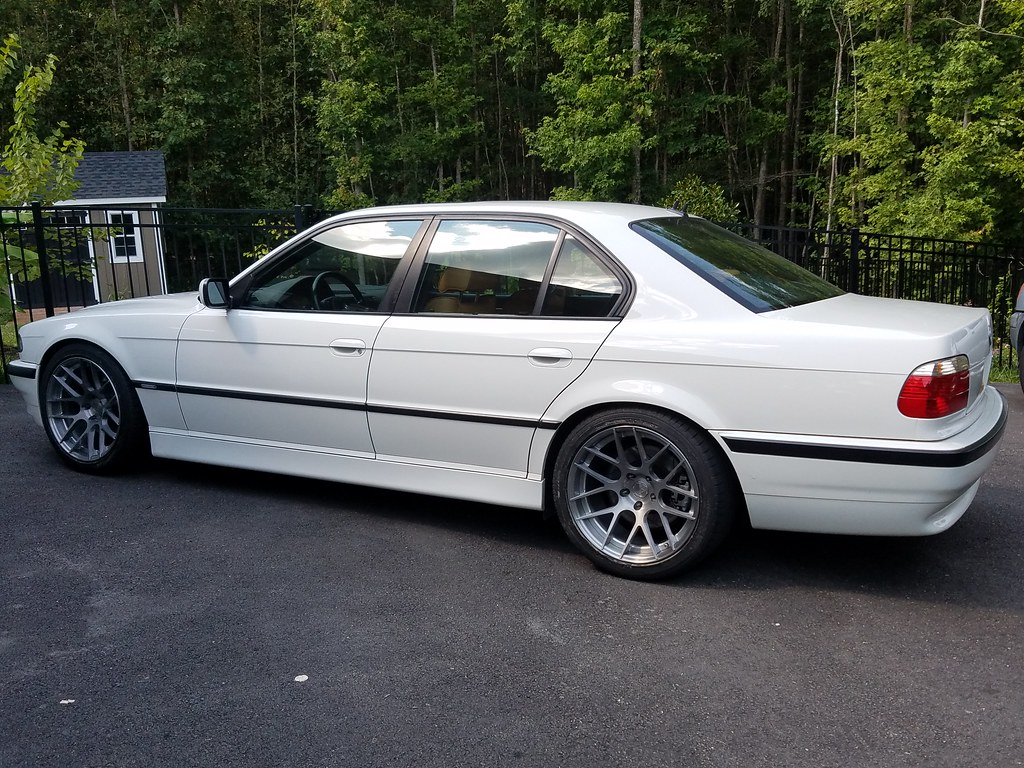 Here We Go Again E38 M7 Project Alpine White 38k Page