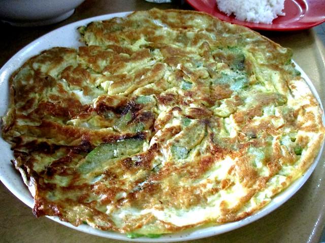 Mei Le bitter gourd omelette