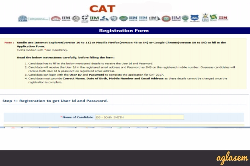 CAT 2018 Registration   IIM CAT 2018 Online Application Form