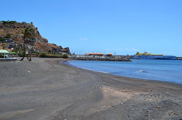 Beach, San Sebastian, La Gomera