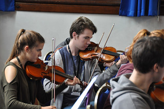 Avison Ensemble performance workshop, Queen Elizabeth Sixth Form College, Darlington, Wednesday 20th September 2017 | by Avison Ensemble