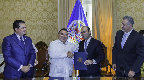 OAS and Congress of the State of Puebla (Mexico) Agree to Promote Transparency and Legislative Accountability