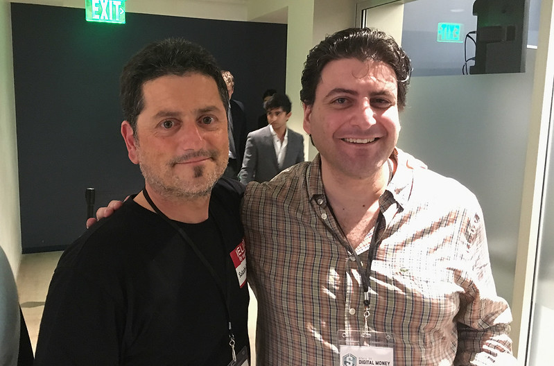 Hanging with Eric after the Scaling Bitcoin panel at SODM 2017