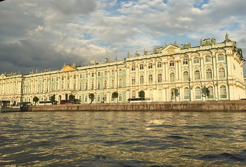 Russia (St.Petersburg) Magnificent view of Hermitage Museum, just before heavy rain | by ustung