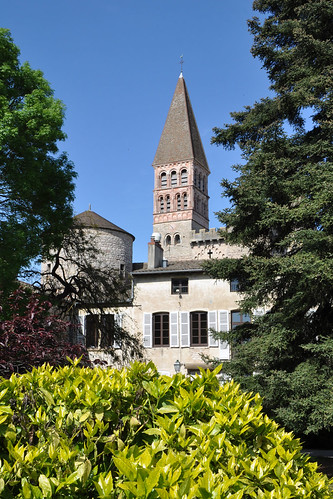 Abadia de Saint-Philibert de Tournus | by Monestirs Puntcat