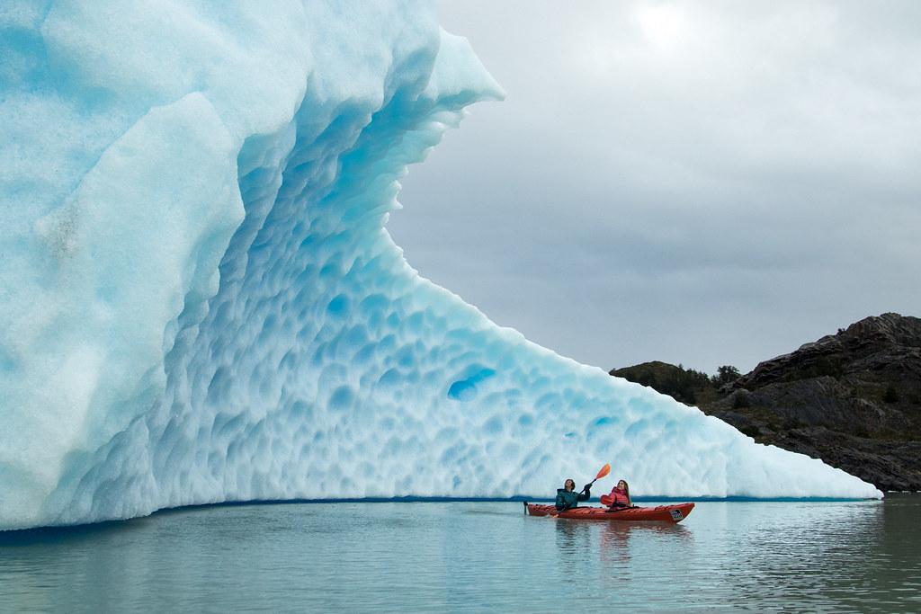 The tsunamic icebers