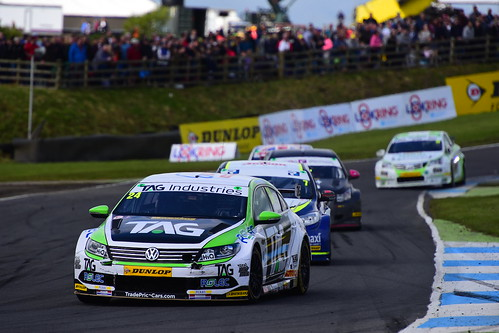 Jake Hill, Volkswagen CC, British Touring Car Championship, Knockhill 2017