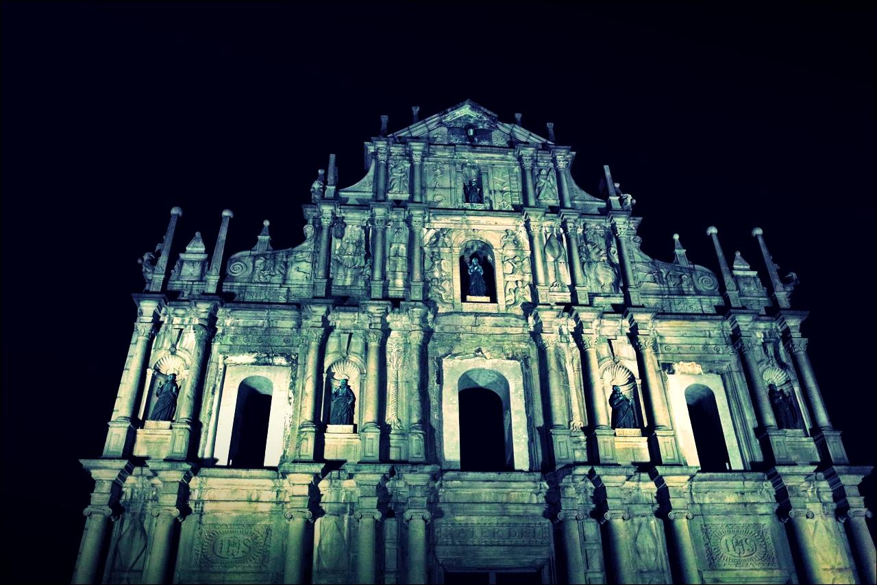 Ruins of St. Paul's 大三巴牌坊-'마카오 둘러보기(Macau Sightseeing)'